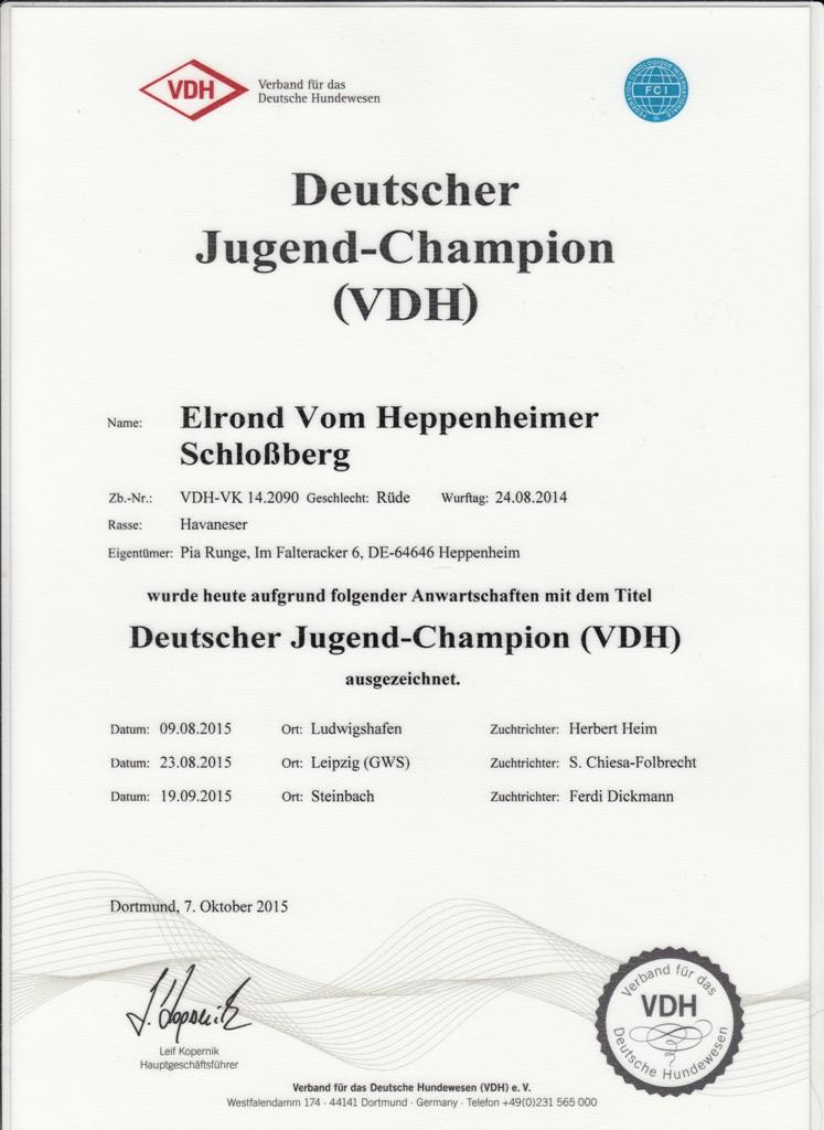 Elrond DJC VDH