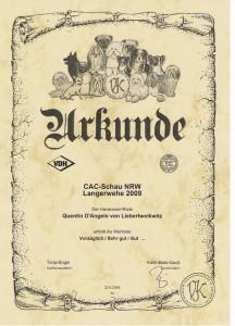 Urkunde Langerwehe 09-1