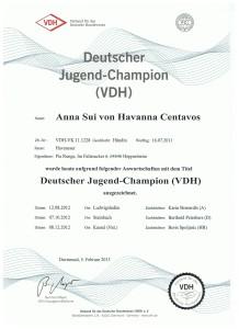 Sunnie DJChamp VDH
