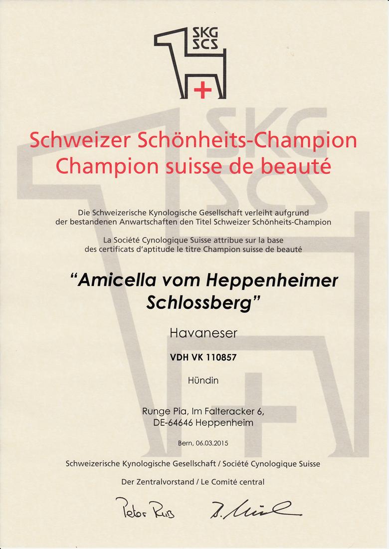 Amicella Swiss-Champ-