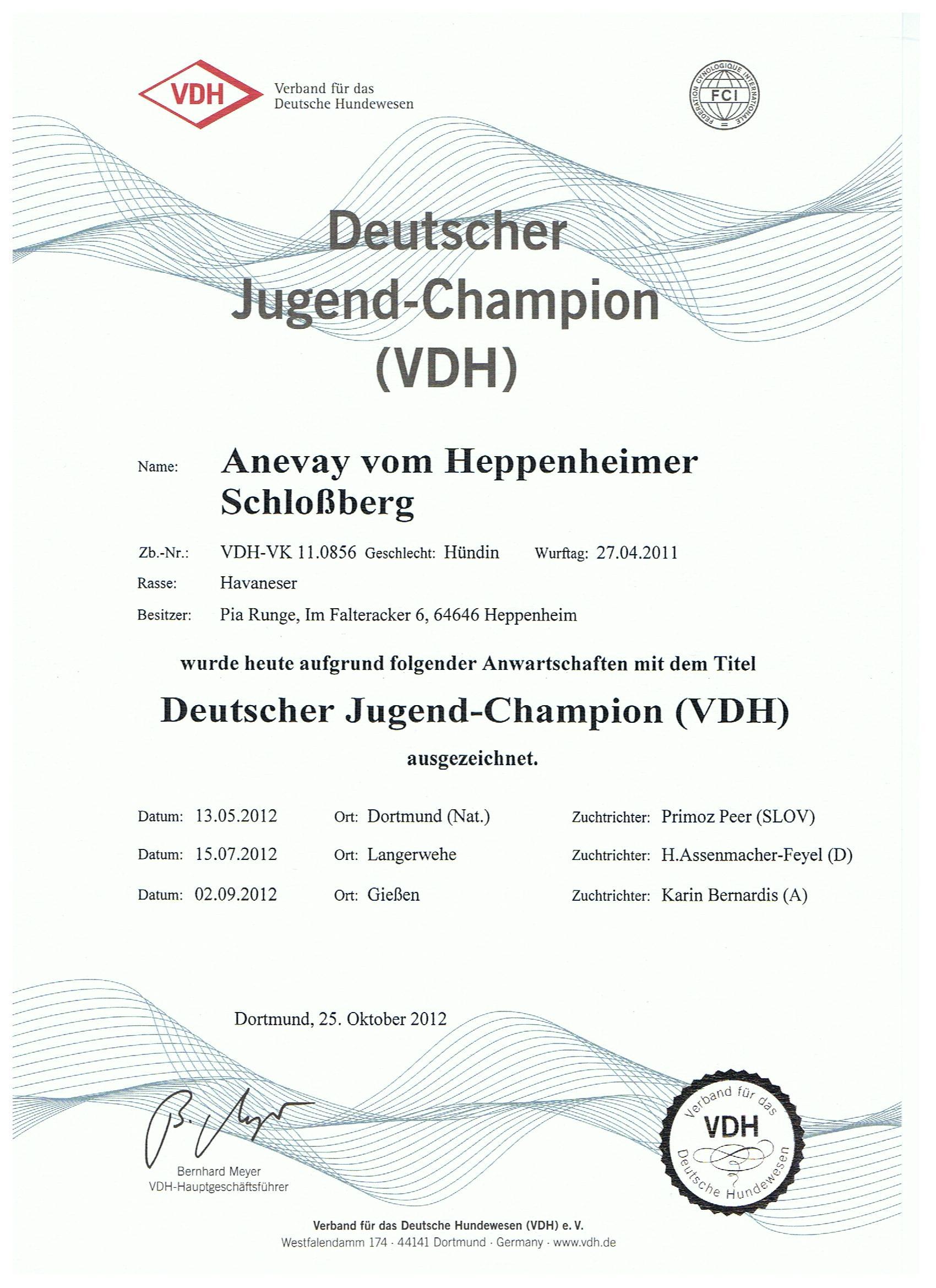 Anevay-VDH-Champion
