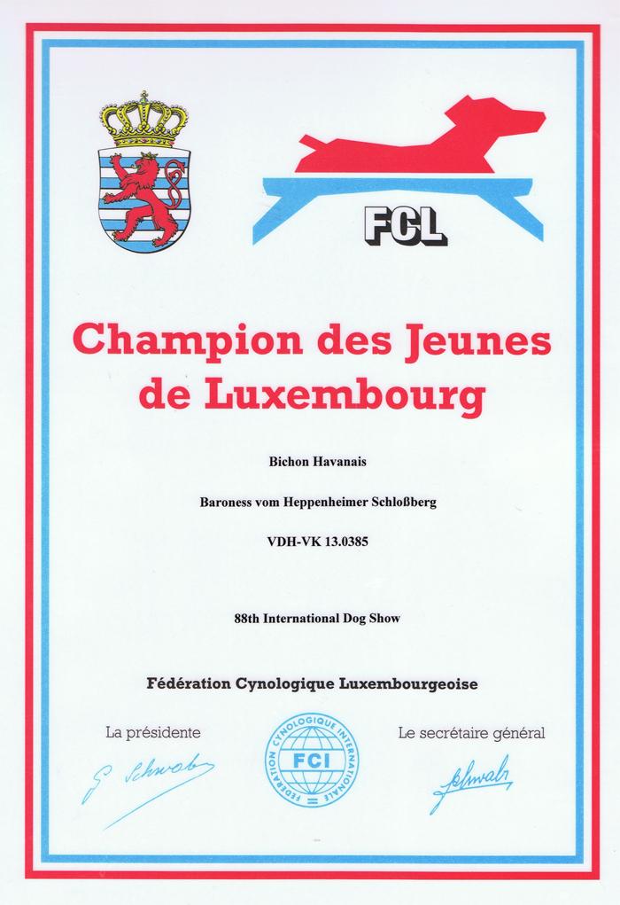Juliette Lux Jugend Champion